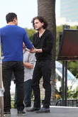 Kit Harrington and Mario Lopez