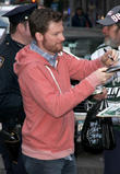 Dale Earnhardt and Jr.