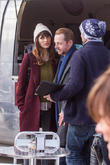Simon Pegg and Lake Bell