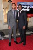 Michael Jordan and Adewale Akinnuoye