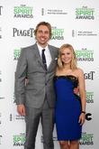 Dax Shepard, Kristen Bell, Tent at the beach, Independent Spirit Awards
