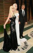 Donatella Versace, Lady GaGa and Nolan Gerard Funk