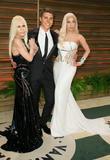 Donatella Versace, Nolan Gerard Funk and Lady GaGa