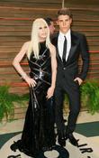 Donatella Versace and Nolan Gerard Funk