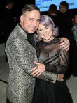 David Furnish and Kelly Osbourne