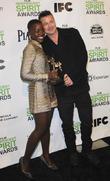 Brad Pitt and Lupita Nyong'o