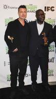 Brad Pitt and Steve McQueen