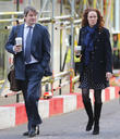 Andy Coulson, Rebekah and Charlie Brooks