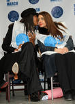 Naomi Campbell and Muna Rihiani Al Nassir