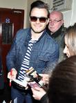 Shane Filan arriving at the stage door of the Olympia Theatre for a soundcheck