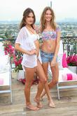 Alessandra Ambrosio, Behati Prinsloo, The London, Victoria's Secret