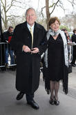 Peter Sissons and wife Sylvia Sissons