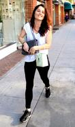 Robin Tunney Shopping At Thibiant Beverly Hills