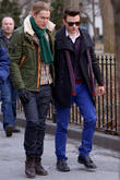 Chord Overstreet and Chris Colfer