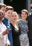 Kate Winslet, Shailene Woodley and Veronica Roth