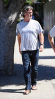 Kurt Russell Lunching In Brentwood