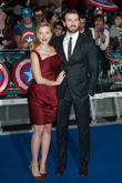 Scarlett Johansson and Chris Evans