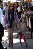 Alyson Hannigan and daughter go out to lunch