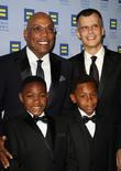 Paris Barclay, Christopher Mason and Their Children