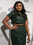 Mindy Kaling, The Doby Theatre in Hollywood