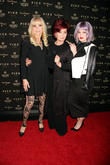 Britt Ekland, Sharon Osbourne and Kelly Osbourne