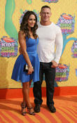 Nicole Garcia-Colace and John Cena