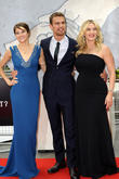 Shailene Woodley, Theo James and Kate Winslet