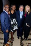 Al Roker, Deborah Roberts, Tony Bennett and Susan Crow