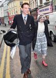 Domhnall Gleeson and Eileen O'Higgins