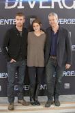 Theo James, Shailene Woodley and Neil Burger