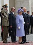 Queen Elizabeth Ii, Prince Philip Duke Of Edinburgh and President Giorgio Napolitano