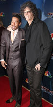 Nick Cannon and Howard Stern