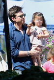 Jason Bateman and Maple Bateman
