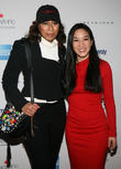Tamara Tunie and Michelle Kwan