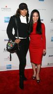 Tamara Tunie and Michelle Kwan