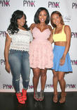 Toya Wright, Sheneka Adams and Karrueche Tran