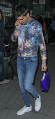 Tom Parker, The Wanted, JFK Airport