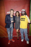 Mark McGrath, Kari Wuhrer and Judah Friedlander