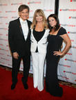 Dr. Mehmet Oz, Goldie Hawn and Lisa Oz