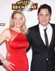 Marin Mazzie and Zach Braff