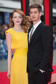 Andrew Garfield, Emma Stone, Odeon Leicester Square