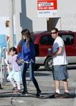 Adam Sandler, Sadie Sandler and Jackie Sandler