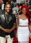Carly Aquilino and Charlamagne Tha God