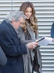 Kate Beckinsal and Terry Jones