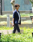 """Halle Berry filming """"Extant"""""""