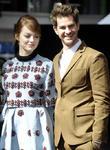 Emma Stone and Andrew Garfield