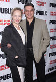 Laila Robins, Robert Cuccioli, The Public Theater,