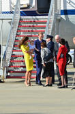 Catherine, Duchess Of Cambridge, Prince William, Duke Of Cambridge and Prince George Of Cambridge