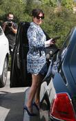 Kris Jenner and Bruce Jenner Leave Easter Service