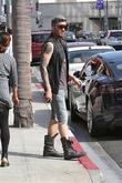 Adam Lambert In Beverly Hills